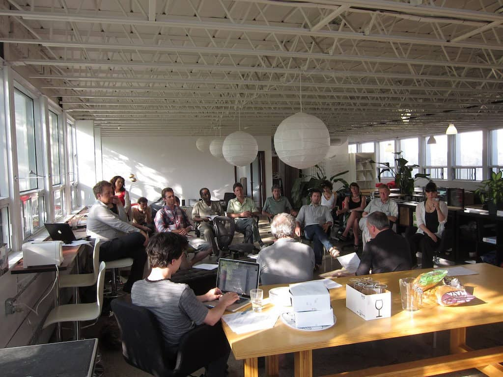 Percolab cofounds its dream workspace