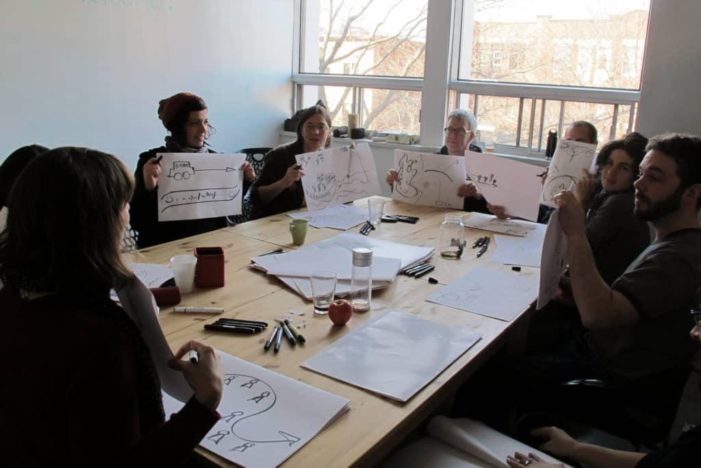 Visual practice workshops take off