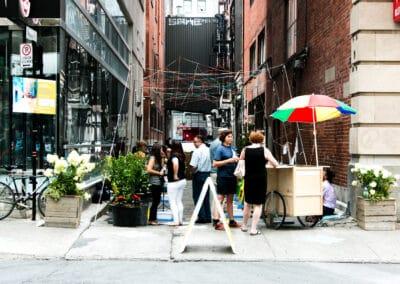 Réimaginer les ruelles commerciales du centre-ville de Montréal