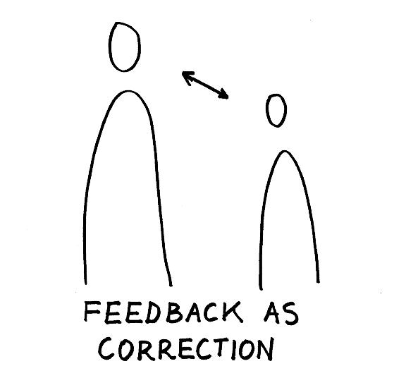Feedback as correction