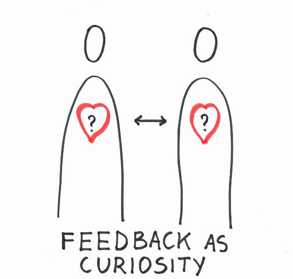 Feedback as curiosity