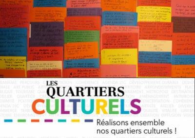 Quartiers culturels – Se mobiliser et collaborer